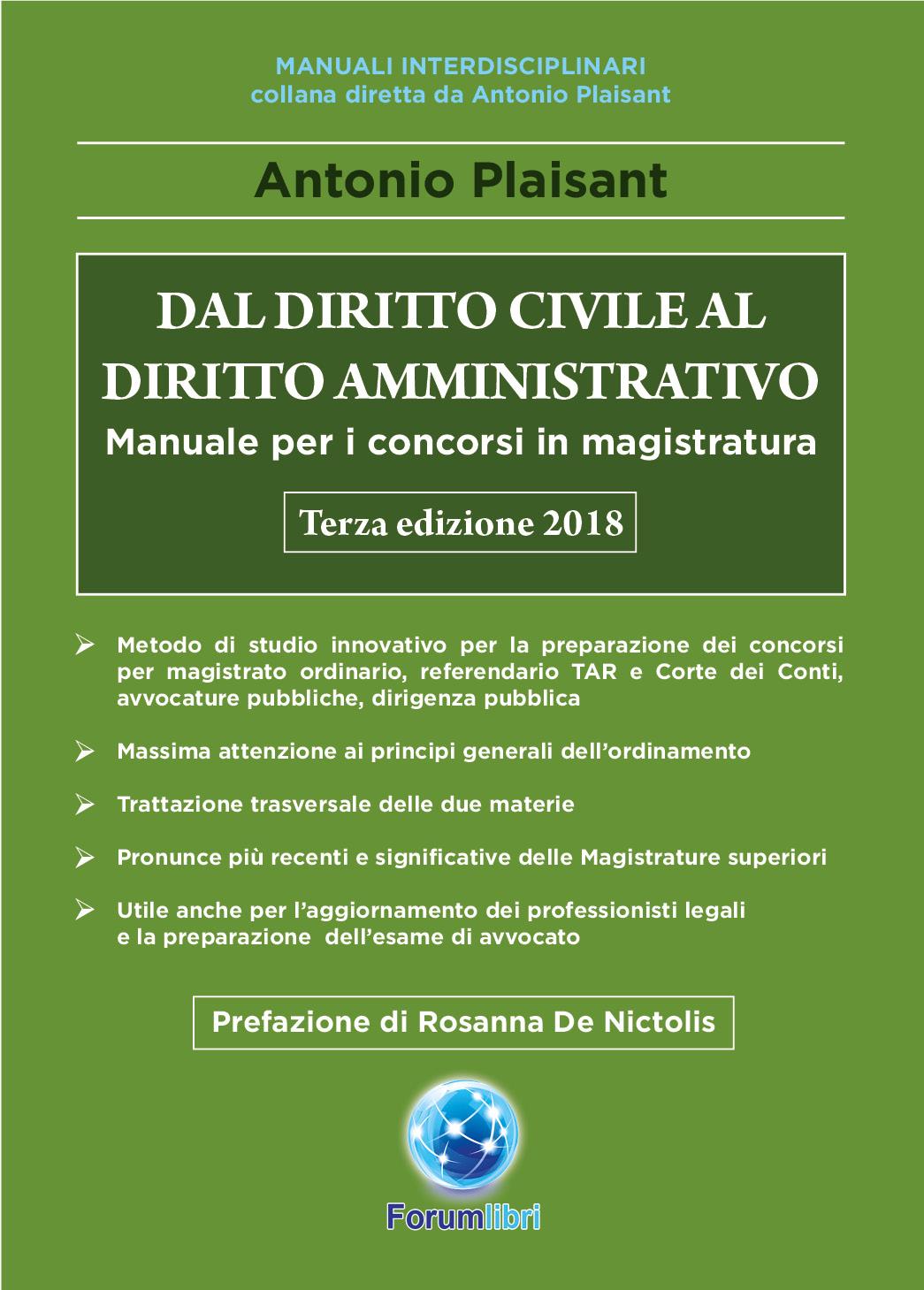 Dal Diritto Civile al Diritto Amministrativo